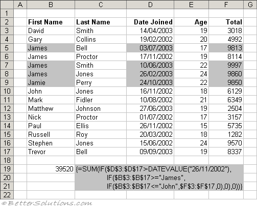 Excel Addins Conditional Sum Wizard. To Sum A Block Of Cells Based On More Than One Condition This Is An Additional Addin That Can Be Loaded When Necessary It Not By Default. Worksheet. Worksheetfunction Sum At Clickcart.co