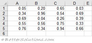 Excel Cells & Ranges - Working With Arrays