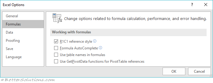 Excel Formulas A1 Or R1c1 Notation. R1c1 Notation Relative References. Worksheet. Excel Vba Worksheetfunction Days360 At Mspartners.co
