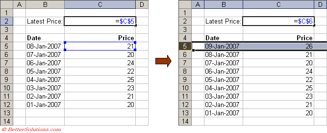 Excel vba insert table row above a step by guide to use for Hide tr in table