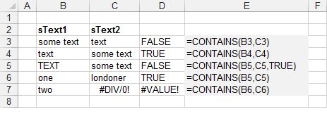 excel if statement contains text