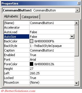 Excel Macros - ActiveX Controls